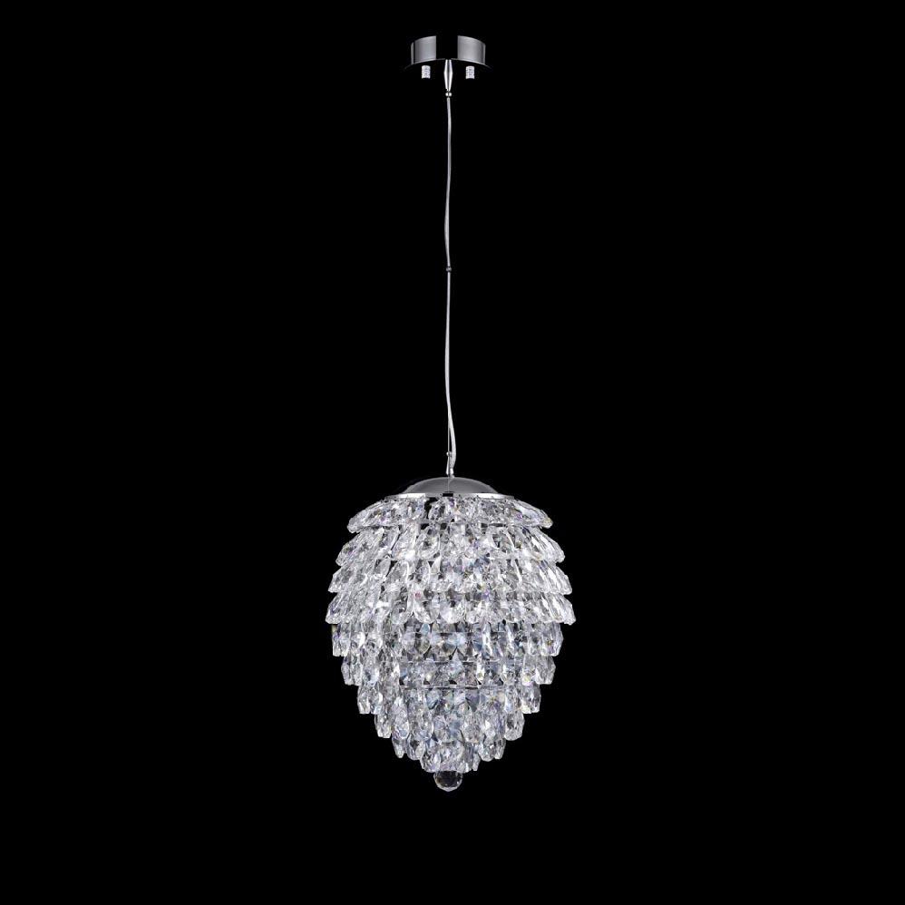 Светильник Crystal Lux Charme SP4 Chrome/Transparent Charme