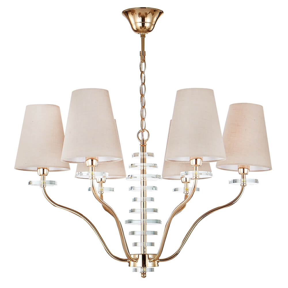 Люстра Crystal Lux ARMANDO SP6 GOLD Armando Gold