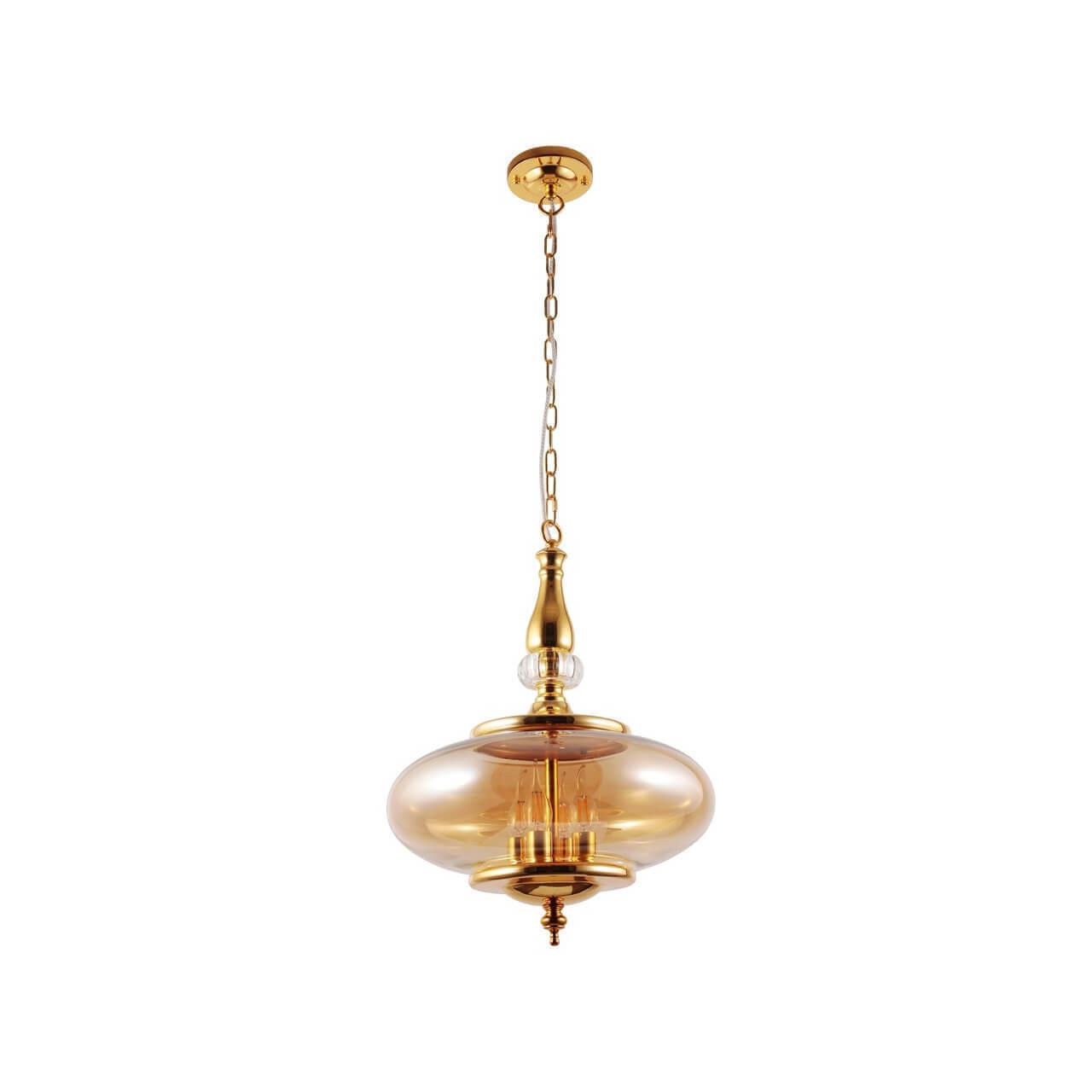 Светильник Crystal Lux Miel SP4 Gold