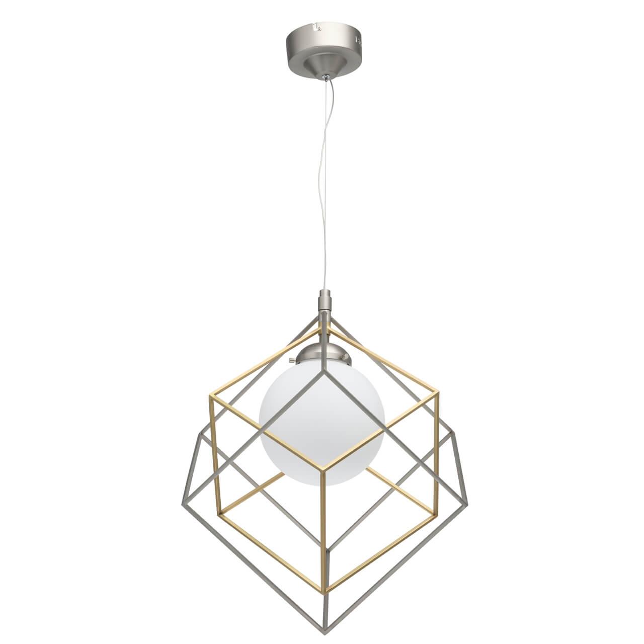 Подвесной светодиодный светильник De Markt Призма 1 726010201
