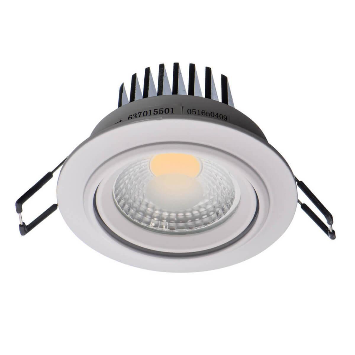 Встраиваемый светодиодный светильник De Markt Круз 637015501