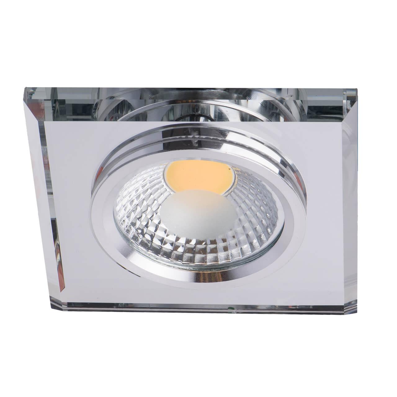 Встраиваемый светодиодный светильник De Markt Круз 10 637014501