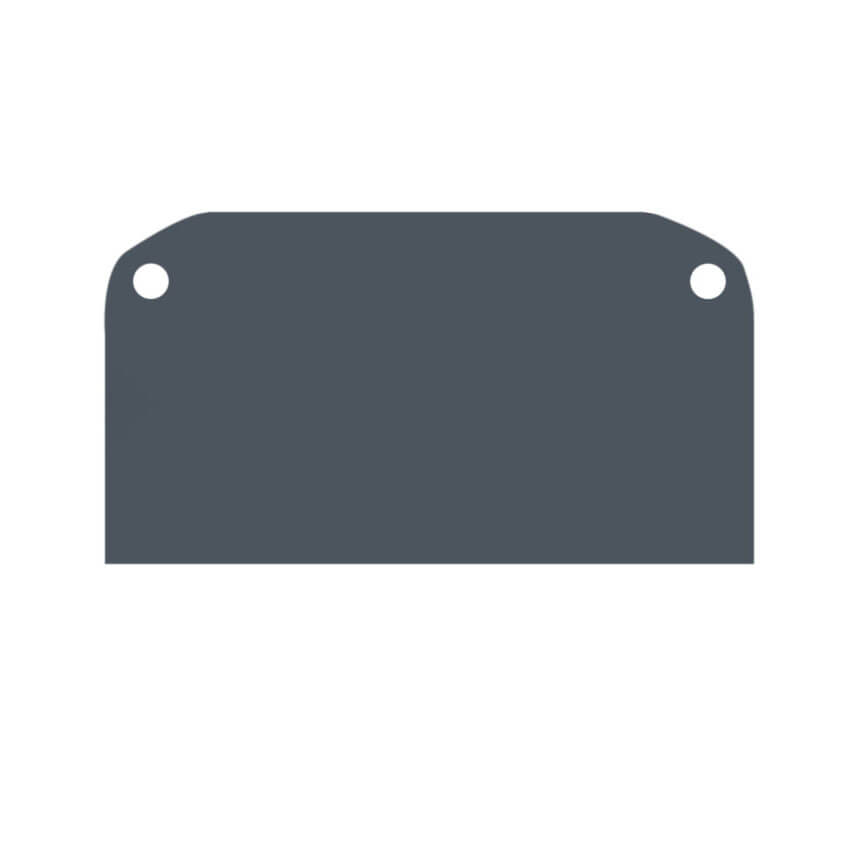 Заглушка Denkirs TR3052-AL TR3050 (цвет на выбор, указать при заказе)