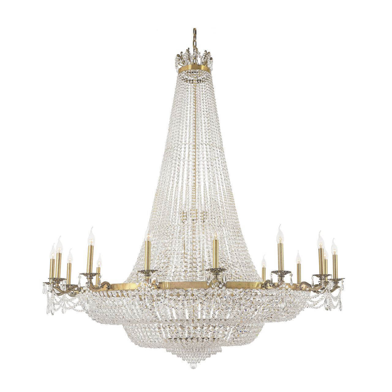 Люстра Dio D`arte Lodi E 1.6.16.200 G Lodi Gold светильник dio d arte lodi e 1 2 80 200 g lodi gold