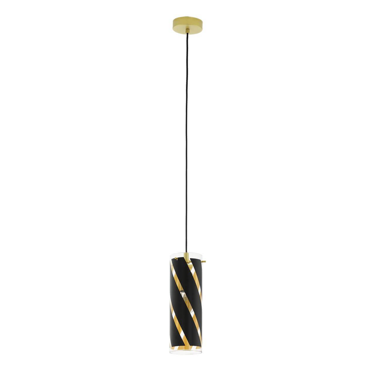 Подвесной светильник Eglo Pinto Nero 1 97766 цена и фото