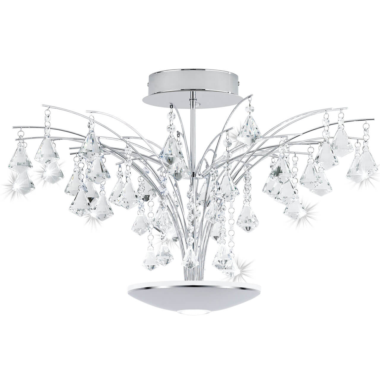 цена на Потолочный светодиодный светильник Eglo Miramas 39031