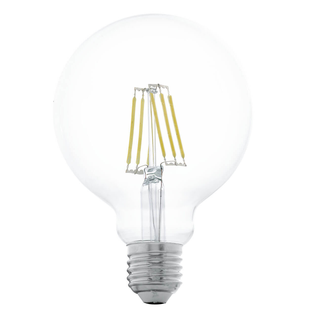 Лампа светодиодная филаментная Eglo E27 6W 2700К прозрачная 11503 цены онлайн