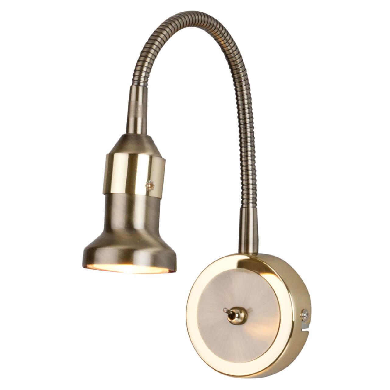 Подсветка для картин Elektrostandard Plica 1215 MR16 бронза/золото 4690389012105