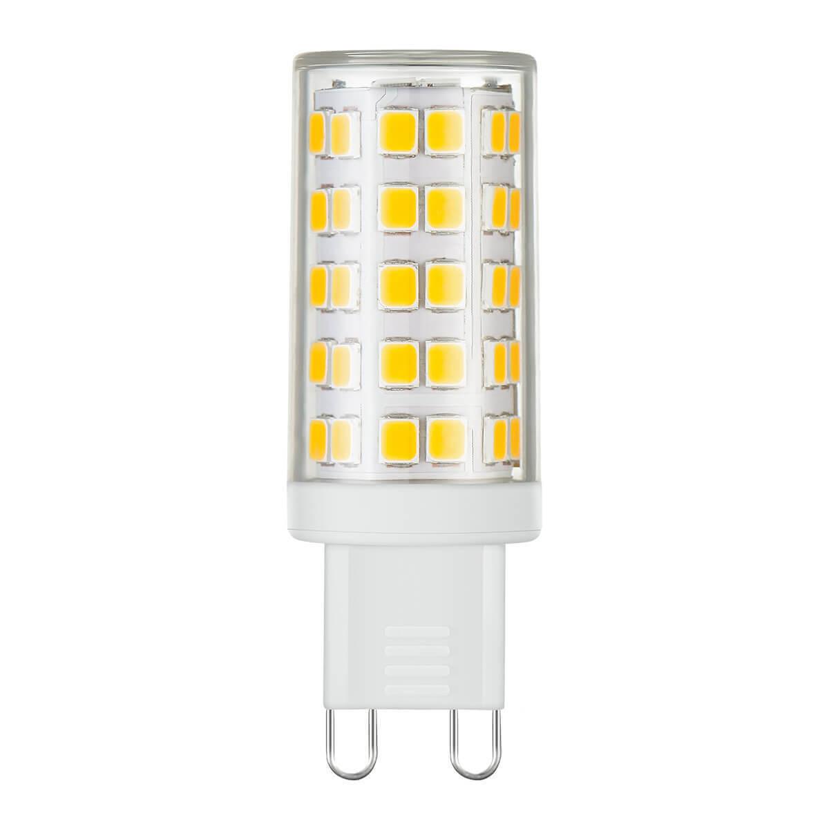 купить Лампа светодиодная Elektrostandard G9 9W 4200K прозрачная 4690389113017 по цене 267 рублей