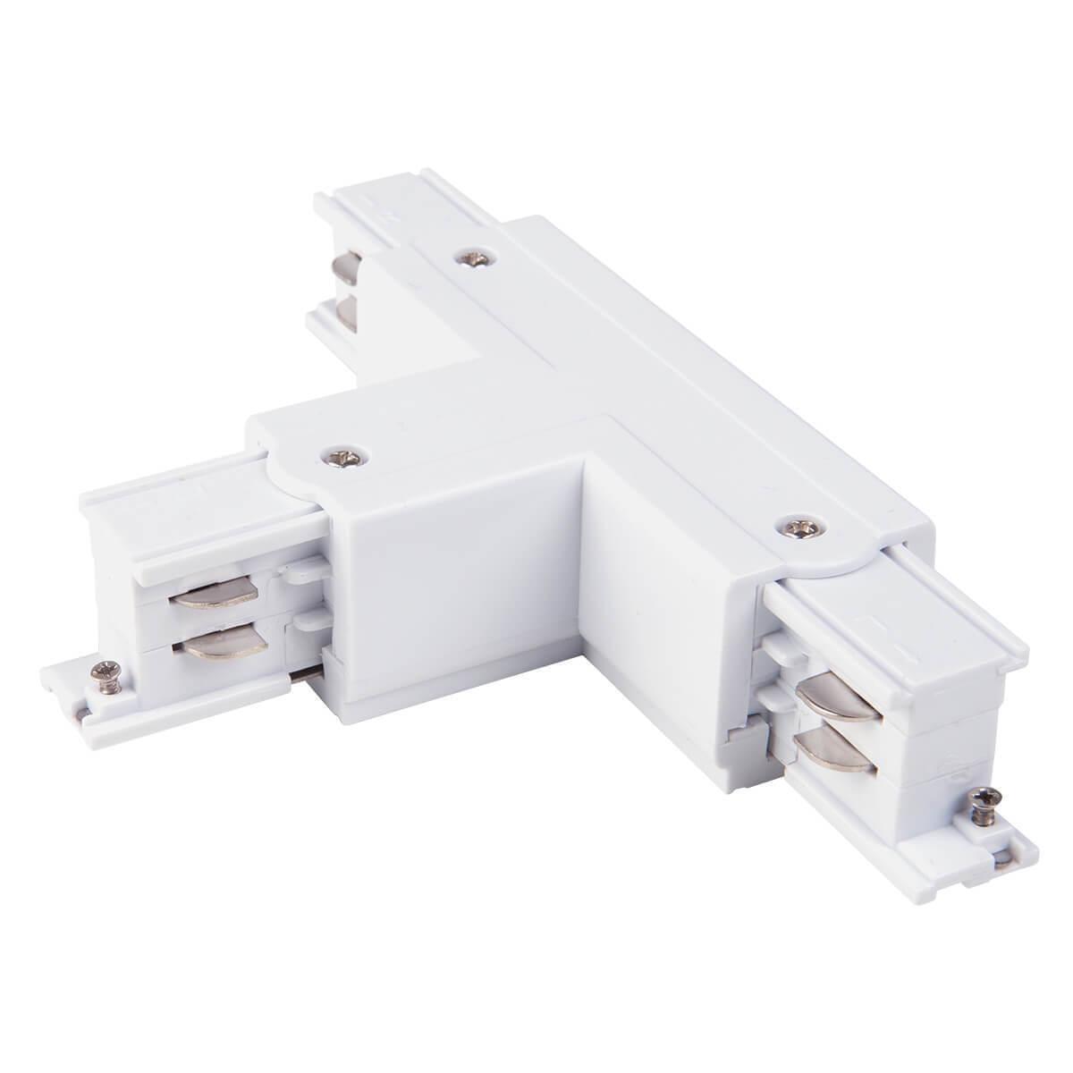 лучшая цена Коннектор Т-образный левый Elektrostandard TRC-1-3-TL-WH 4690389112492