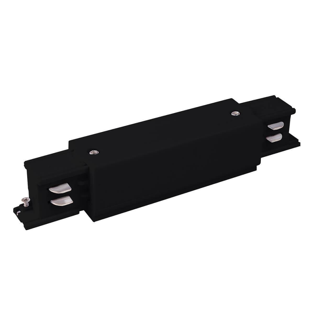 лучшая цена Коннектор прямой Elektrostandard TRC-1-3-I-BK 4690389112423