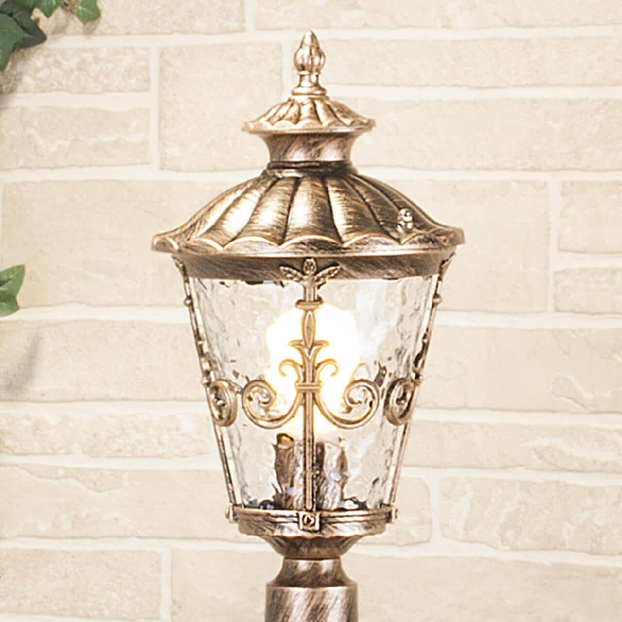 Уличный светильник Elektrostandard Diadema F GLYF-8046F черное золото 4690389056956 цена