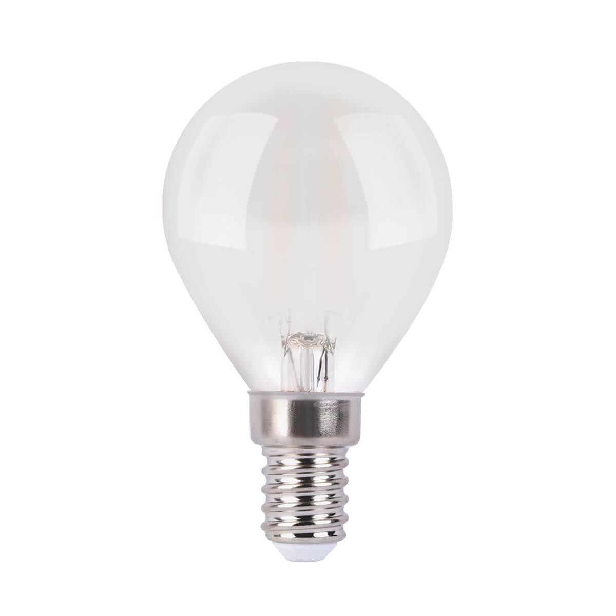 купить Лампа светодиодная филаментная Elektrostandard F E14 6W 4200K матовая 4690389108310 по цене 150 рублей