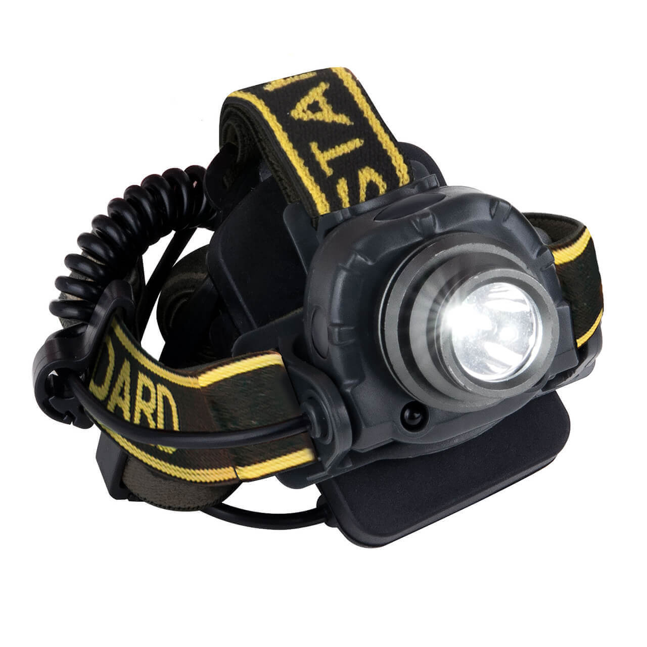 Налобный светодиодный фонарь Elektrostandard от батареек 65х42 200лм 4690389125577 фонарь fenix hl15 черный налобный 2xааа 4режима белого 2режима красного 200лм