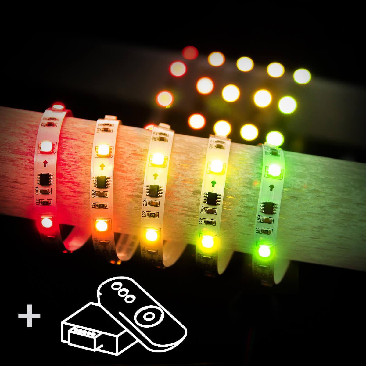 цена на Светодиодная лента Elektrostandard 7,2W/m 30LED/m 5050SMD RGB 5M 44690389082009