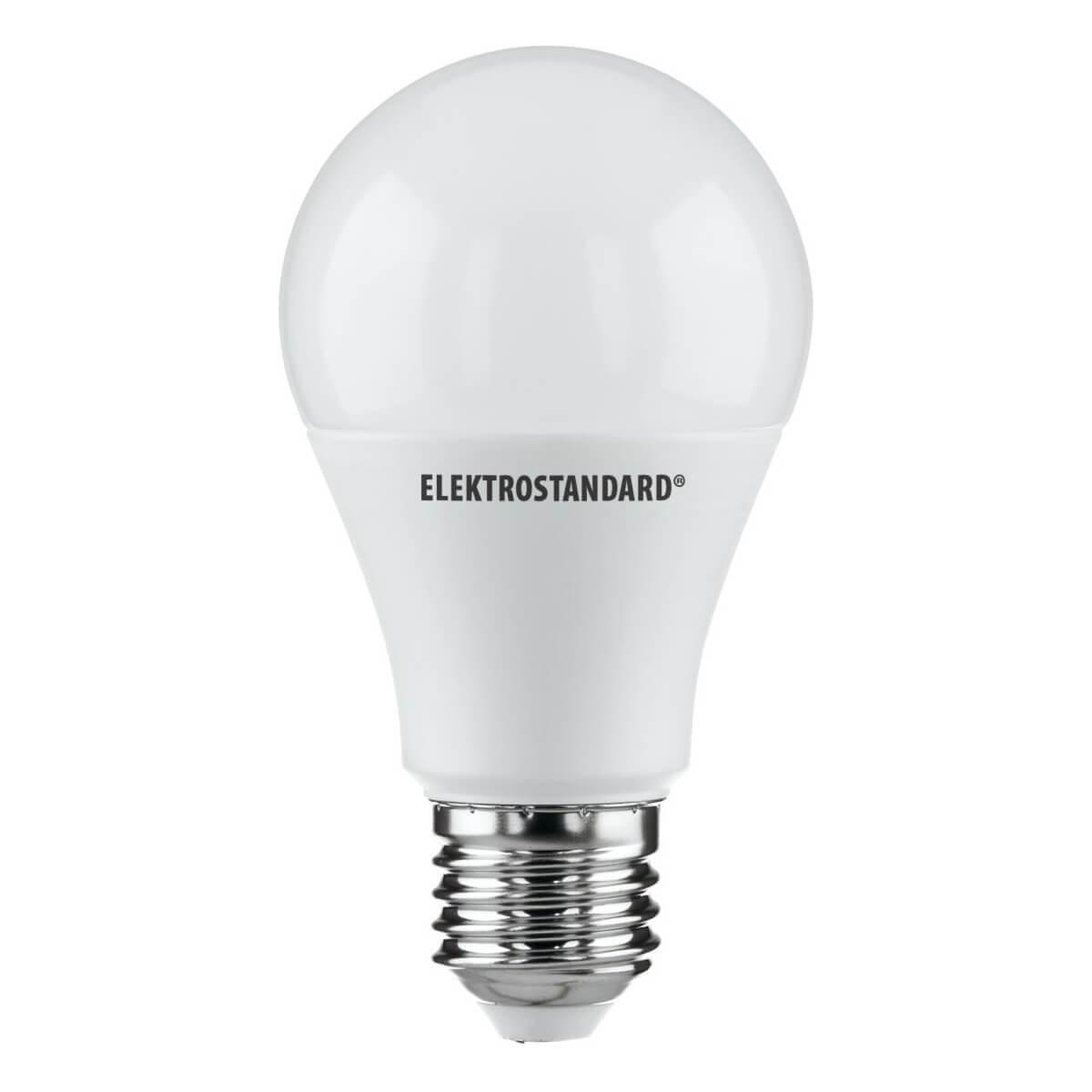 Лампа светодиодная Elektrostandard E27 15W 3300K матовая 4690389085819