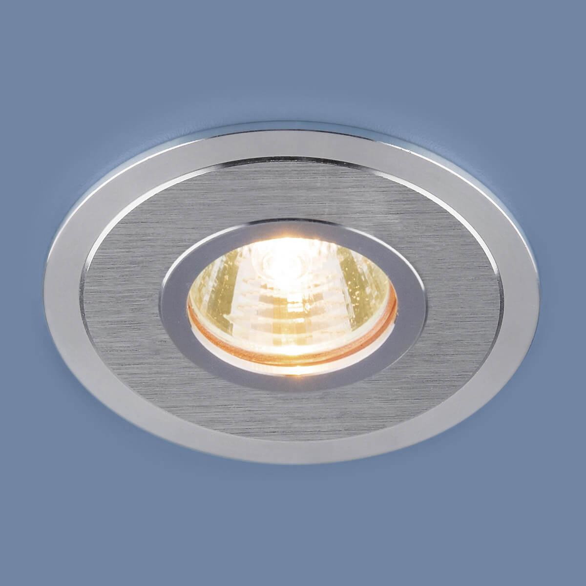 Встраиваемый светильник Elektrostandard 2016 MR16 SCH сатин хром 4690389064159 цена