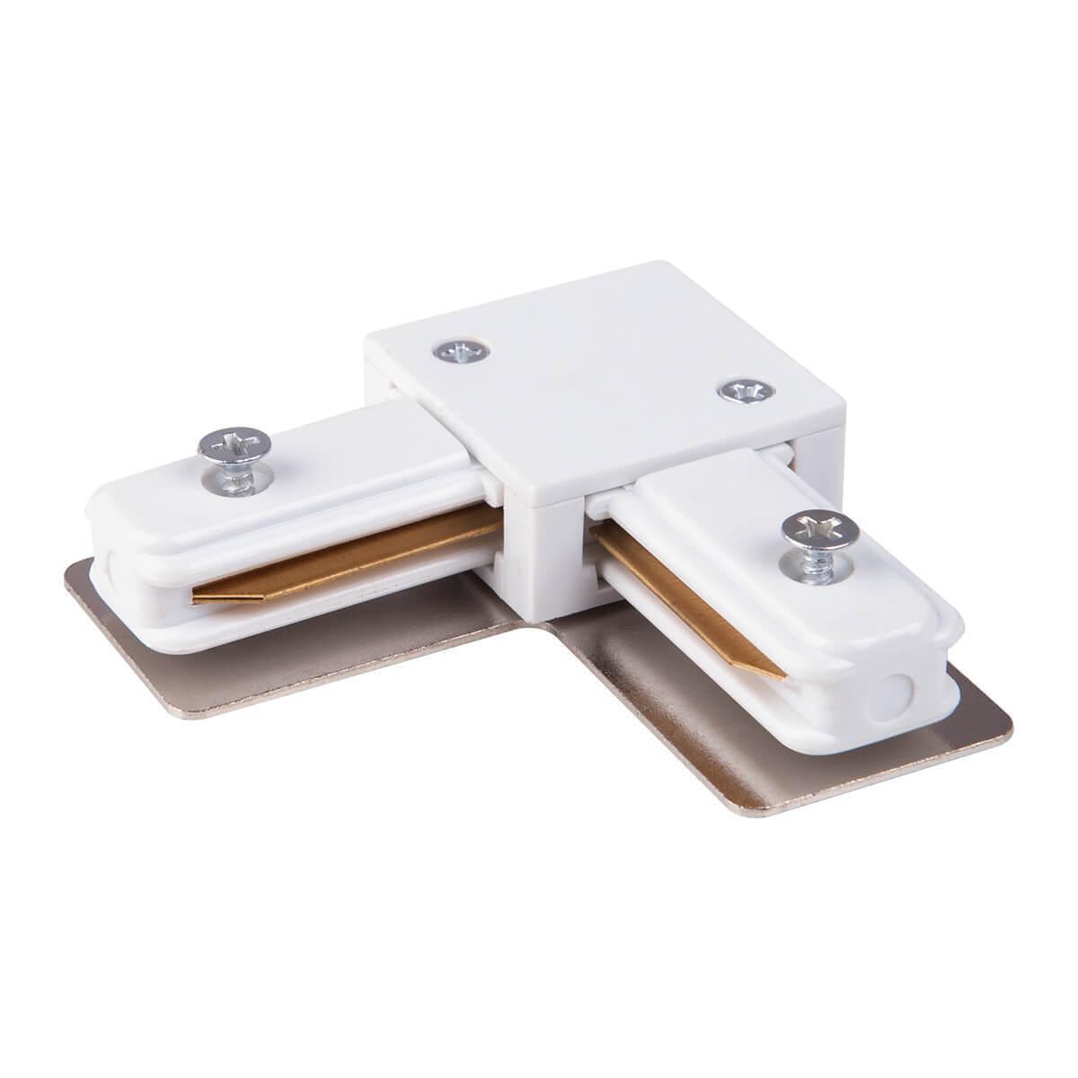 Коннектор Elektrostandard 4690389112355 TRL-1-1 (для однофазного шинопровода) шинопровод elektrostandard 4690389134302 trl 1 1