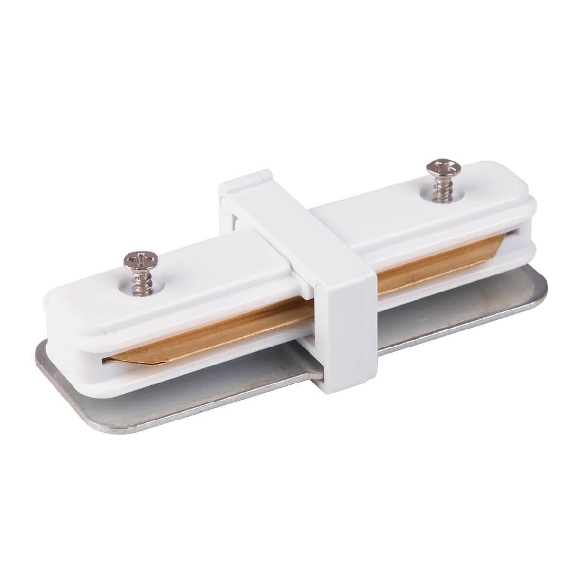 лучшая цена Коннектор прямой Elektrostandard TRC-1-1-I-WH 4690389112331