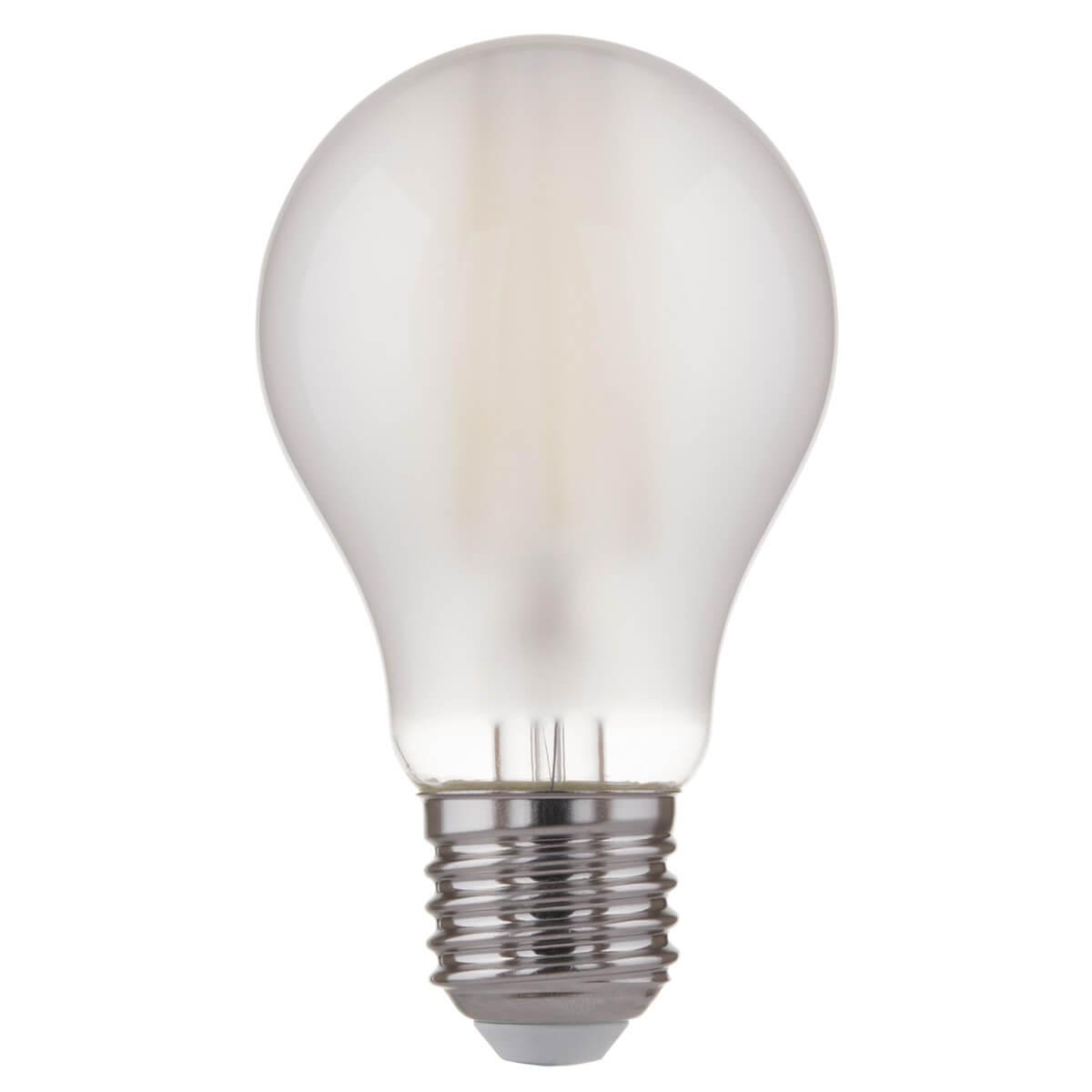 Лампа светодиодная филаментная LED E27 12W 4200K матовая 4690389108358 elektrostandart classic classic led d 10w 4200k e27