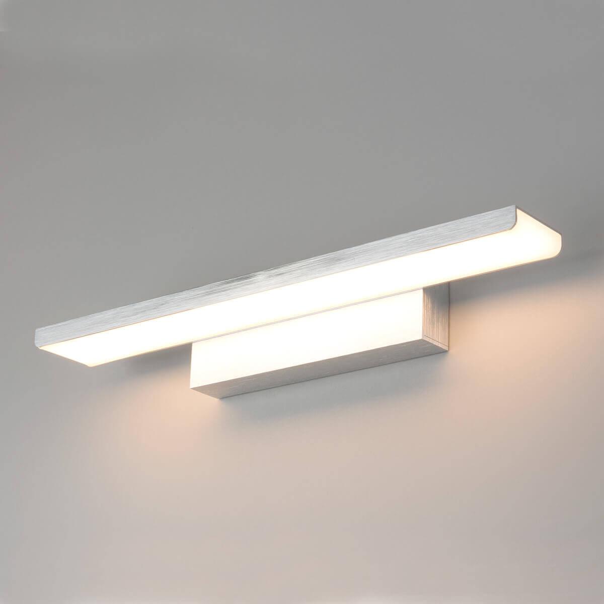Подсветка для картин Elektrostandard Sankara LED 16W 1009 IP20 серебристая 4690389102806 цена и фото