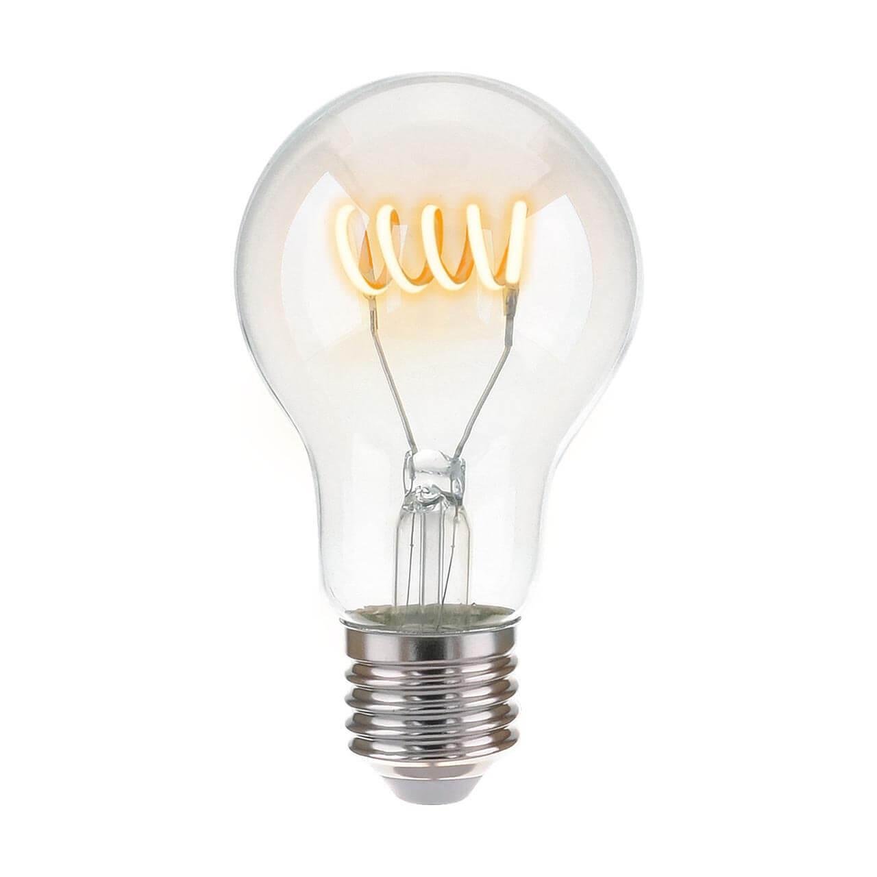 Лампа светодиодная E27 6W 4200K прозрачная 4690389125249 elektrostandart classic classic led d 10w 4200k e27