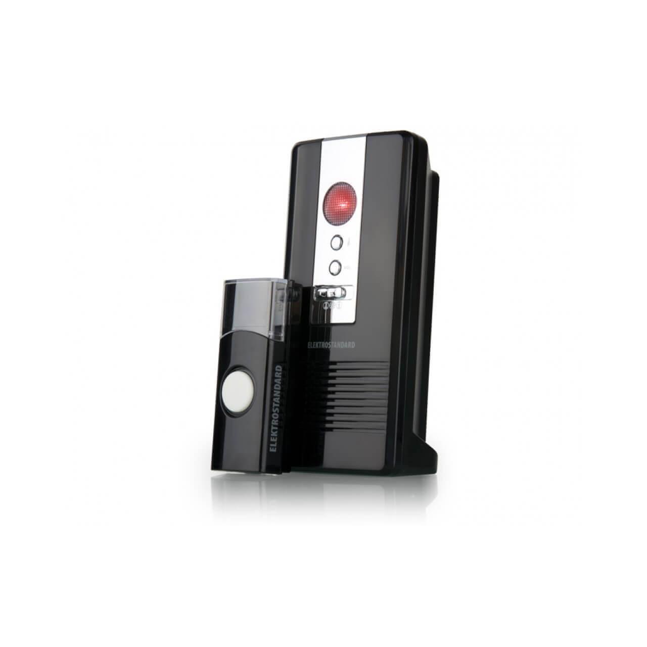 Звонок беспроводной Elektrostandard DBQ06M WL 36M IP44 черный 4690389031236