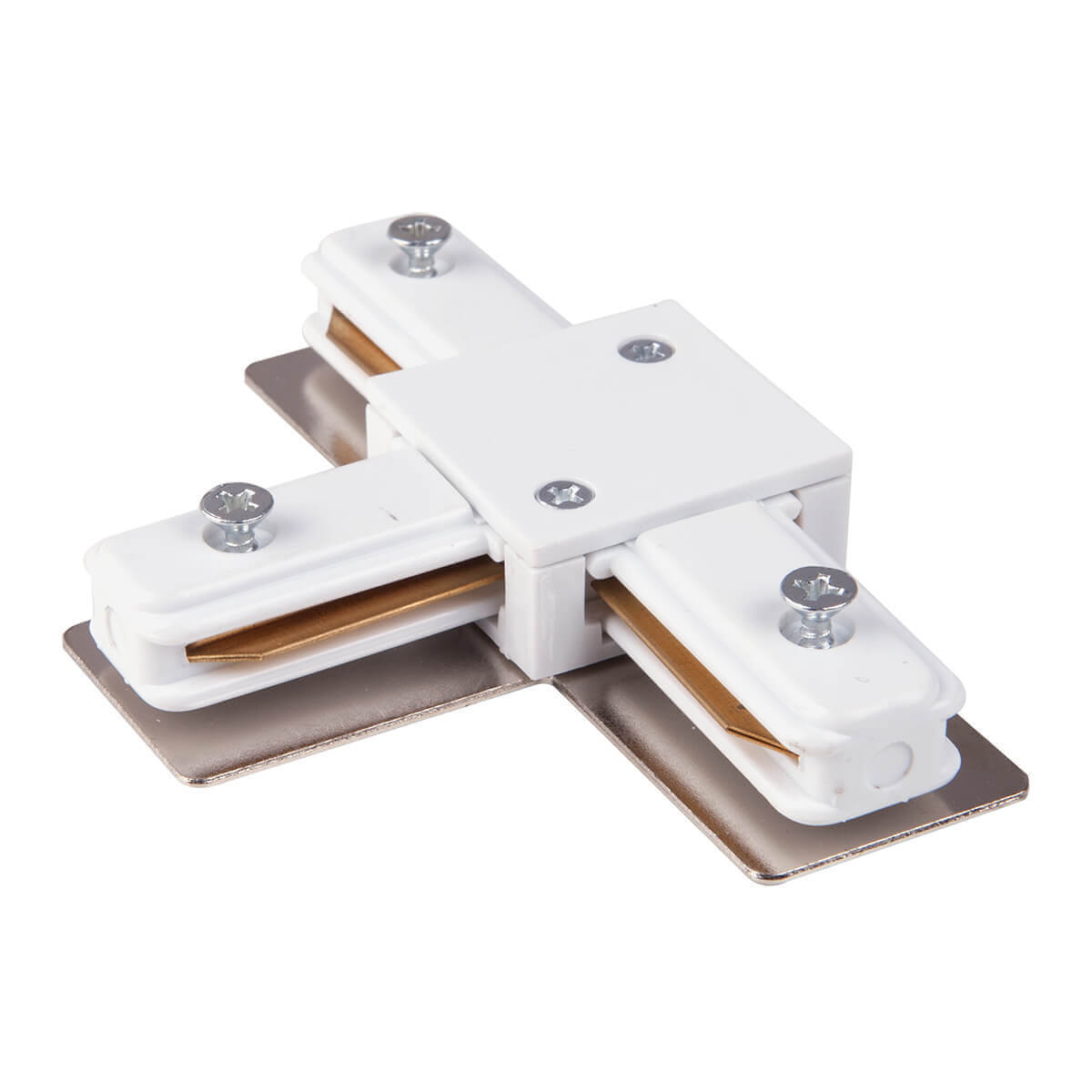 лучшая цена Коннектор Т-образный Elektrostandard TRC-1-1-T-WH 4690389112379