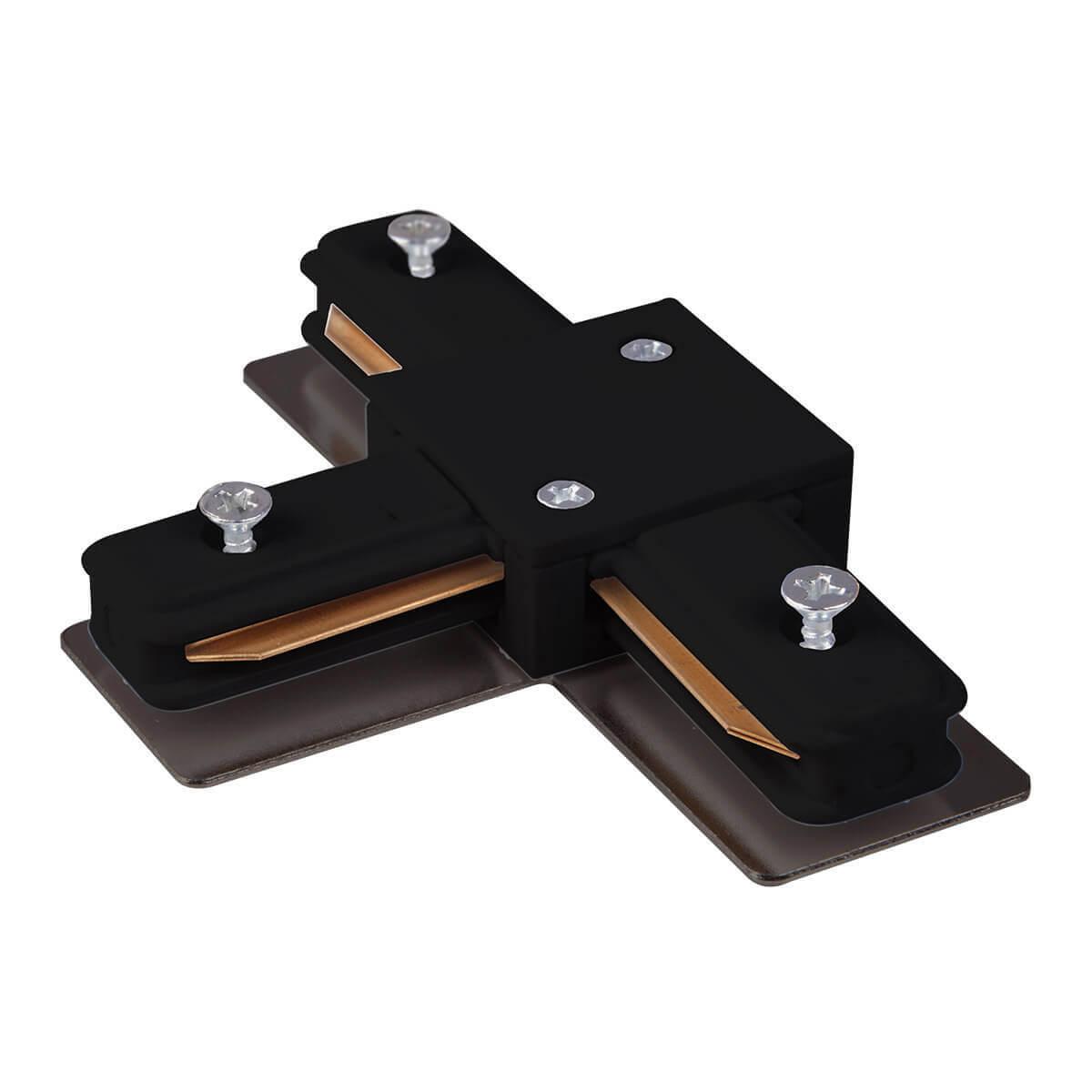 Коннектор Т-образный Elektrostandard TRC-1-1-T-BK 4690389112362 т образный adapter 889 1