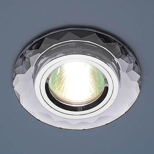 Встраиваемый светильник Elektrostandard 8150 MR16 SL зеркальный/серебро 4690389004339 встраиваемый светильник feron 8150 2 18640
