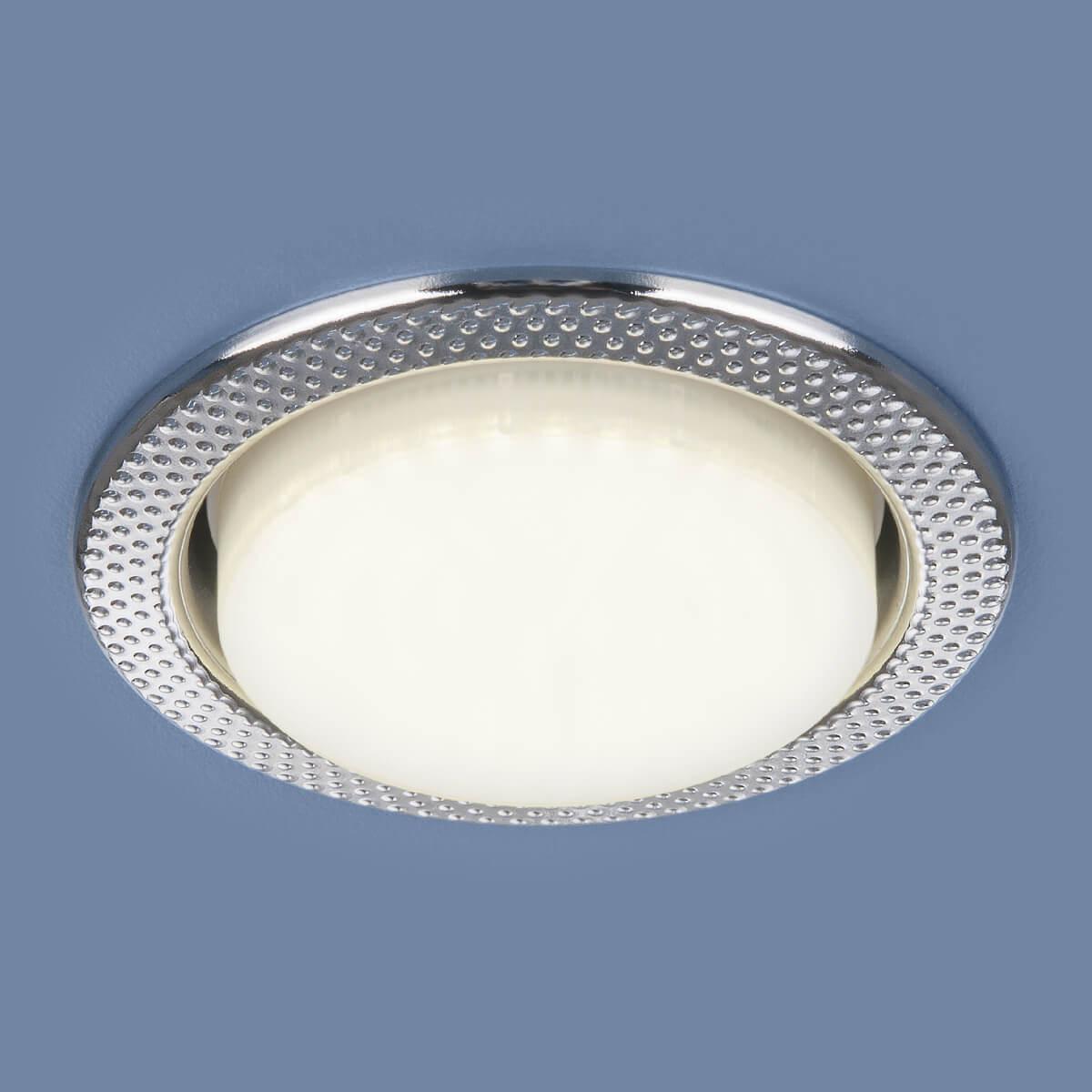 Встраиваемый светильник Elektrostandard 1066 GX53 CH хром 4690389078682 цены