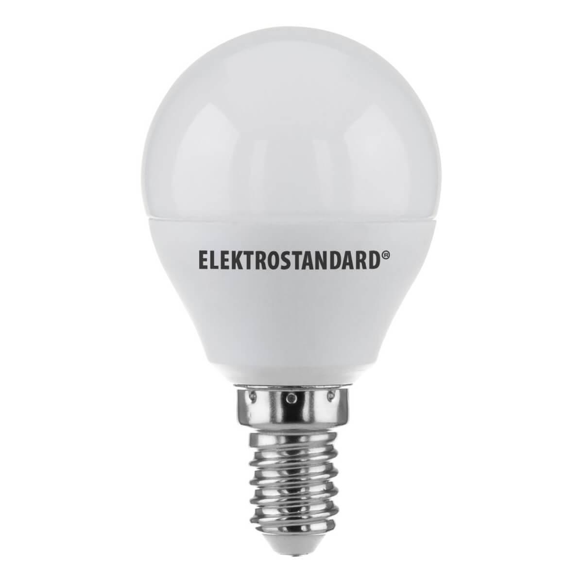 купить Лампа светодиодная Elektrostandard E14 7W 4200K матовая 4690389085390 по цене 101 рублей