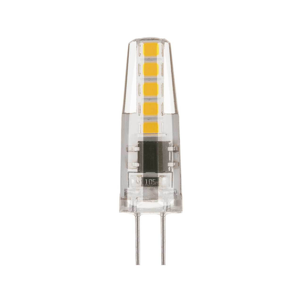 купить Лампа светодиодная Elektrostandard G4 3W 4200K прозрачная 4690389118982 по цене 139 рублей