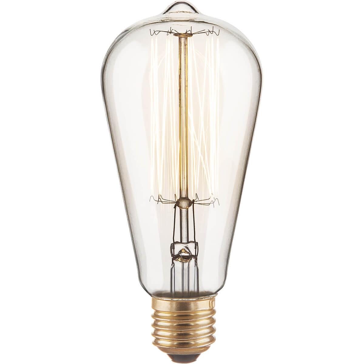 Лампочка Elektrostandard 4690389082153 Ретро лампа Эдисона (Диммирование)