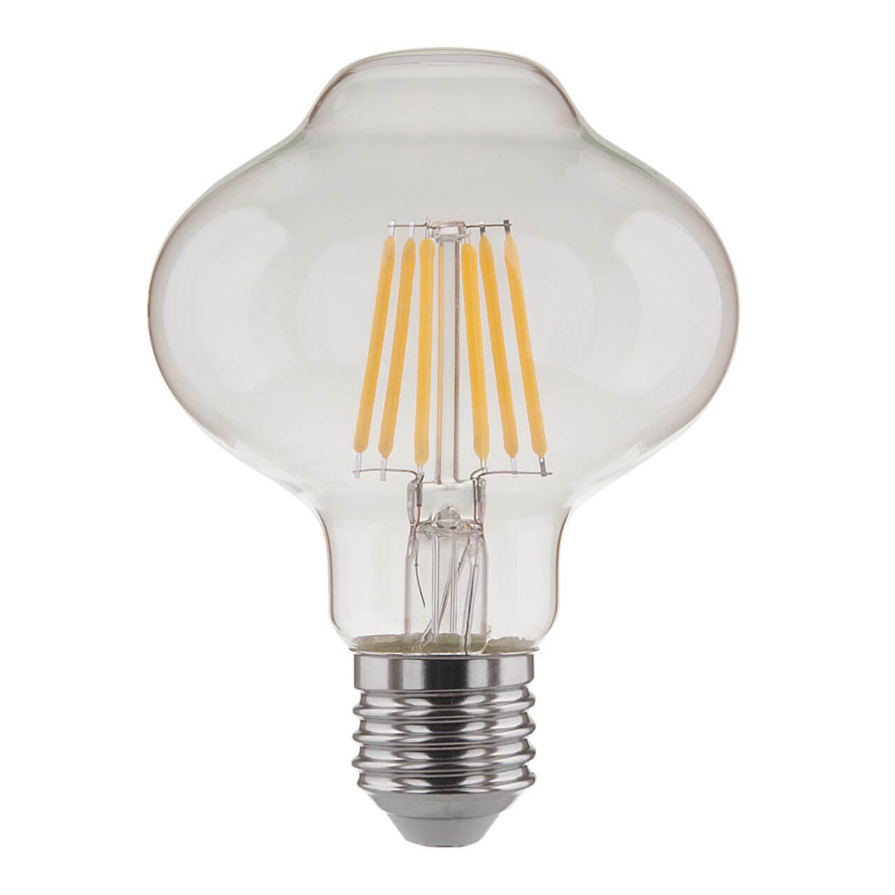Лампа светодиодная филаментная E27 10W 4200K прозрачная 4690389125218 elektrostandard dss002 10w 4200k
