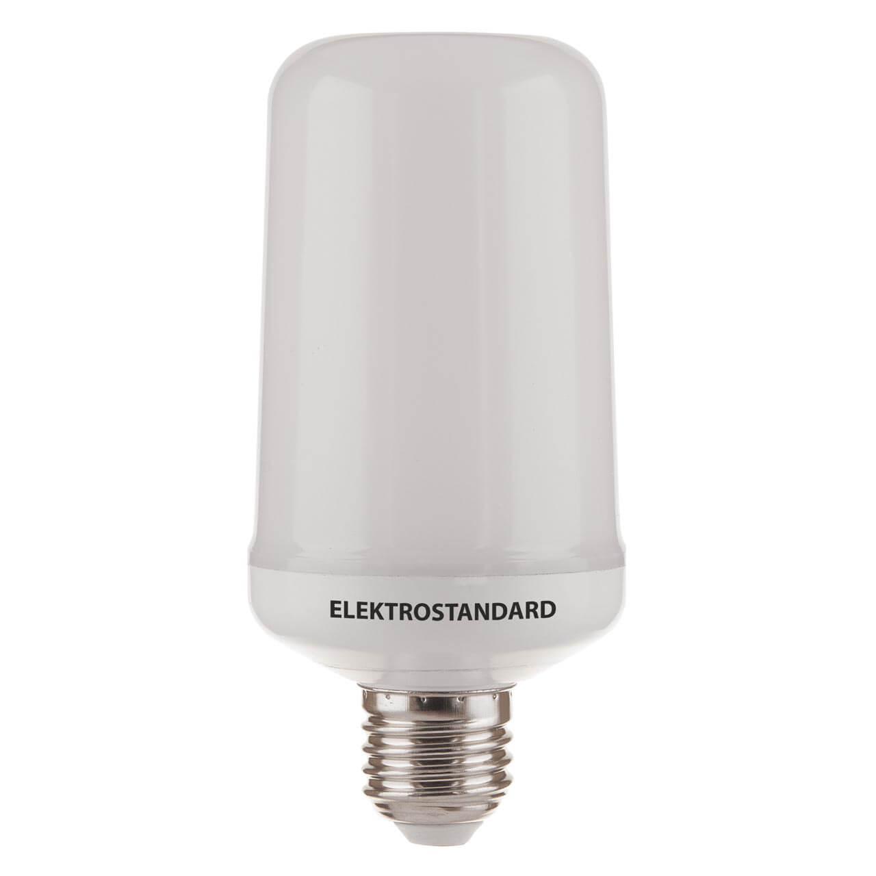 Лампа светодиодная Elektrostandard E27 5W 1800K матовая 4690389119460