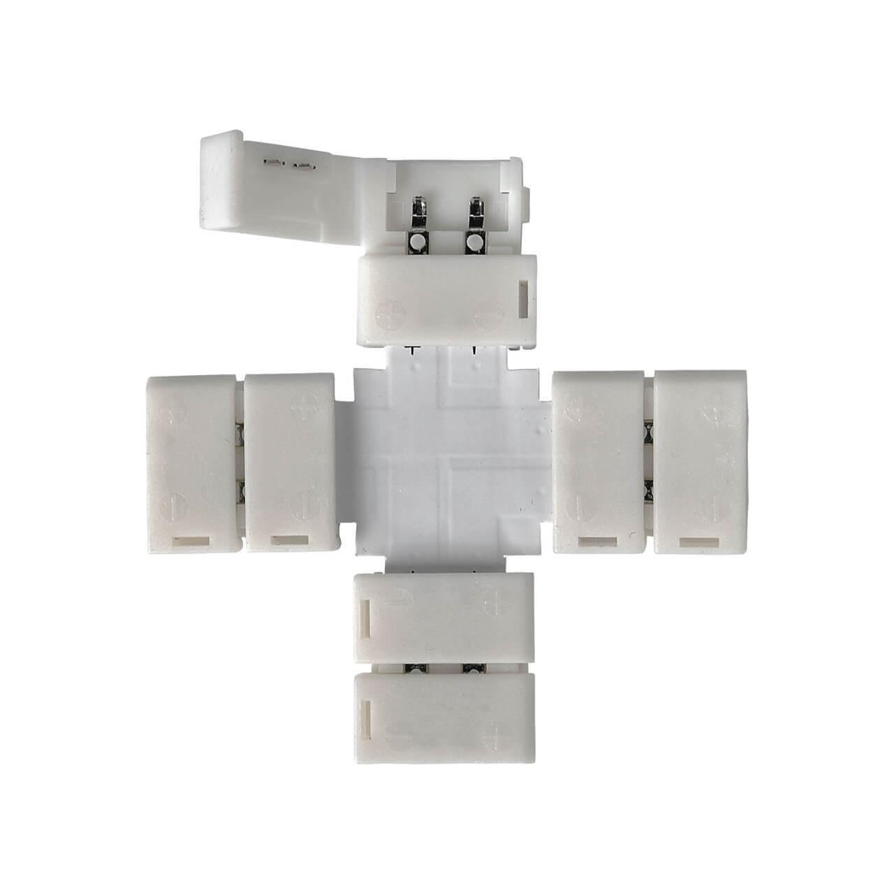 Коннектор X-образный для светодиодной ленты Elektrostandard LED 2X 4690389056062