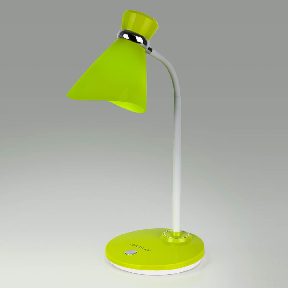 Настольная лампа Eurosvet 01077/1 зеленый School eurosvet настольная лампа eurosvet 008 1t gr зеленый мал уп 10 шт