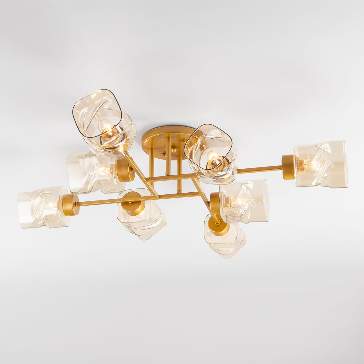 Люстра Eurosvet 30165/8 перламутровое золото Hilari люстра eurosvet 90054 8 золото twist gold