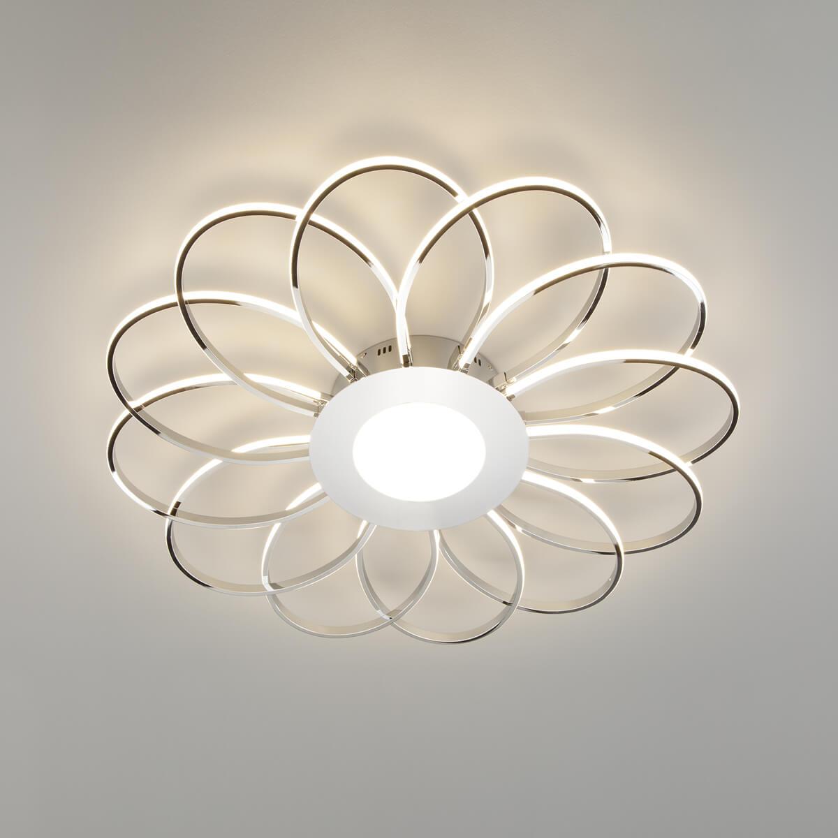 Потолочный светодиодный светильник Eurosvet Jenssen 90105/13 хром цена