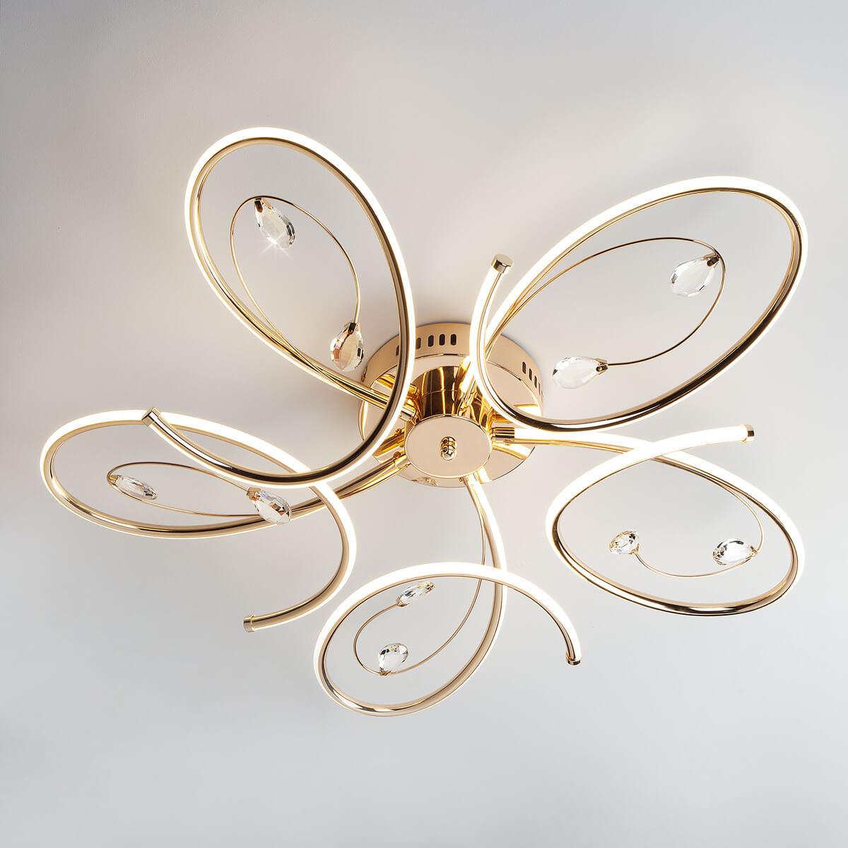 Светильник Eurosvet 90099/5 золото Saona