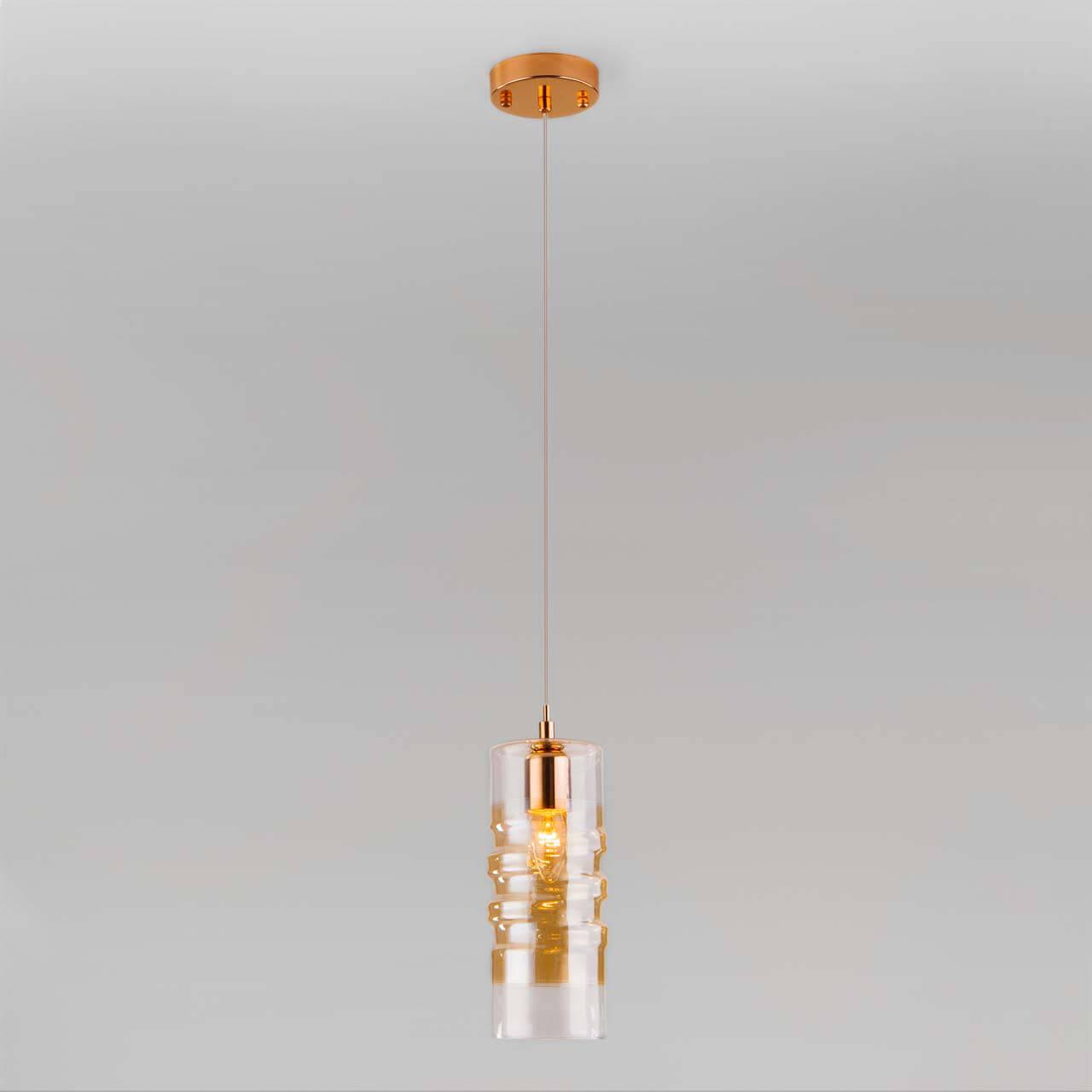 Светильник Eurosvet 50185/1 золото Block