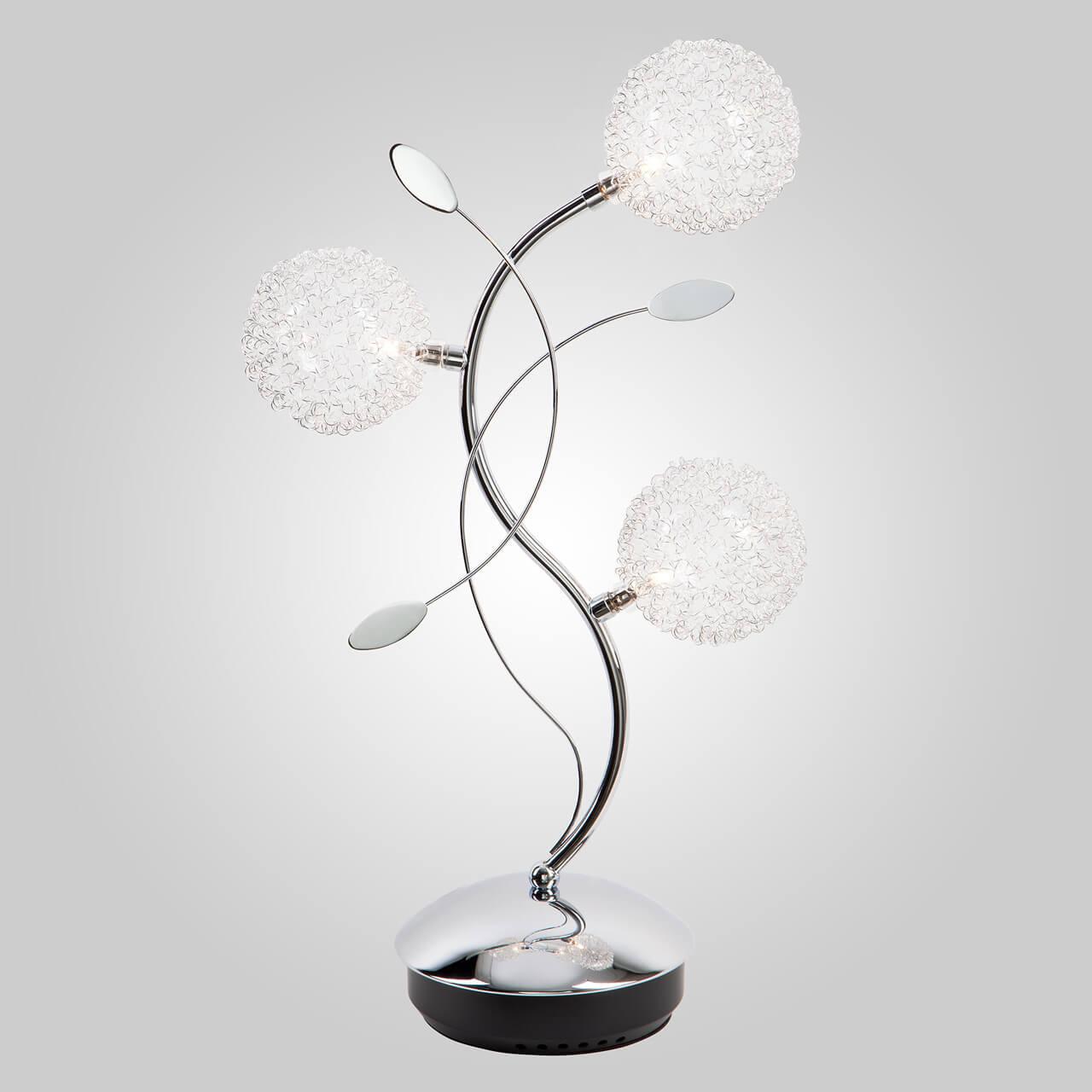 Настольная лампа Eurosvet 4800/3 хром цены