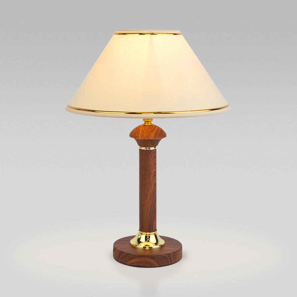 Настольная лампа Eurosvet 60019/1 орех Lorenzo