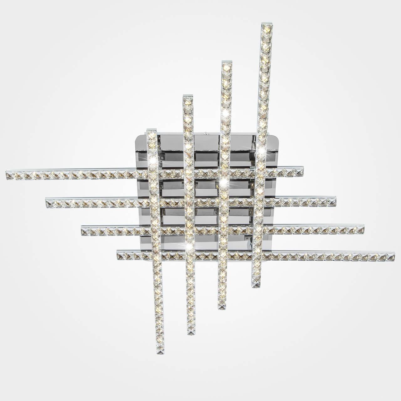 Потолочный светодиодный светильник Eurosvet Soprano 90041/8 хром
