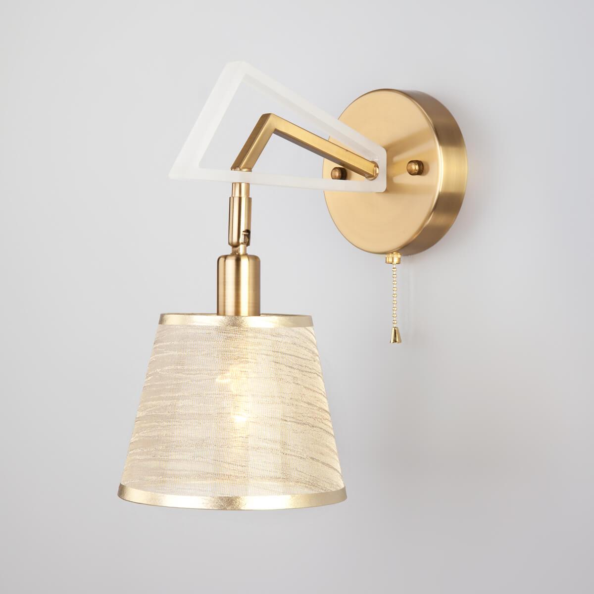 Спот Eurosvet 60082/1 золотая бронза Alicante