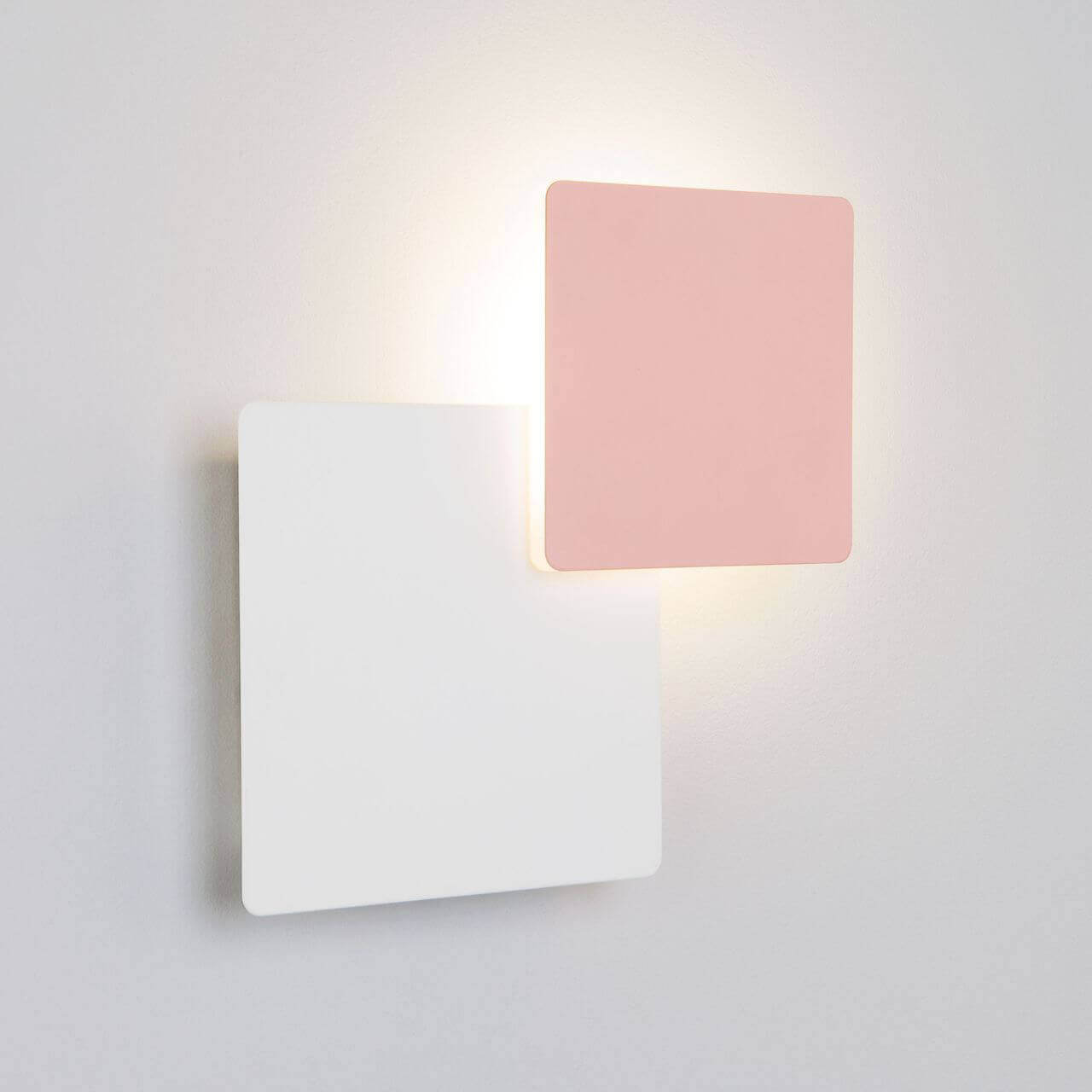 Светильник Eurosvet 40136/1 белый/розовый Screw