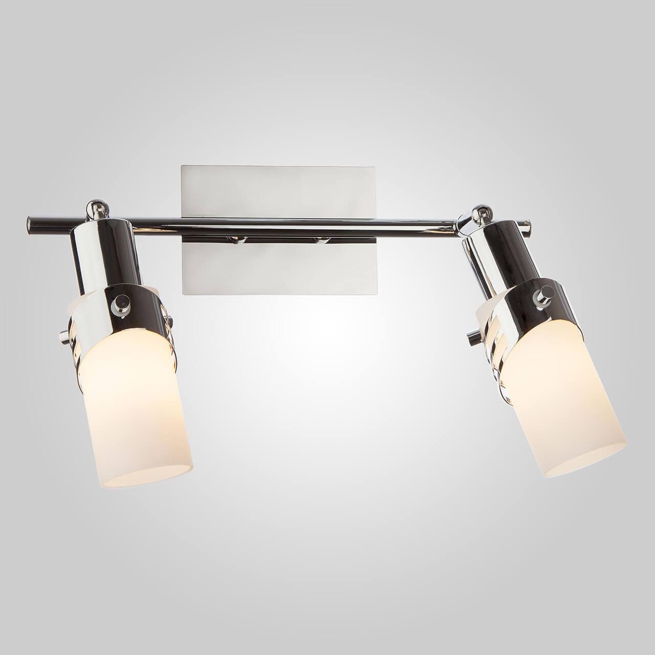 Спот Eurosvet 20003/2 хром Бьянка накладной светильник eurosvet 7077 2 хром