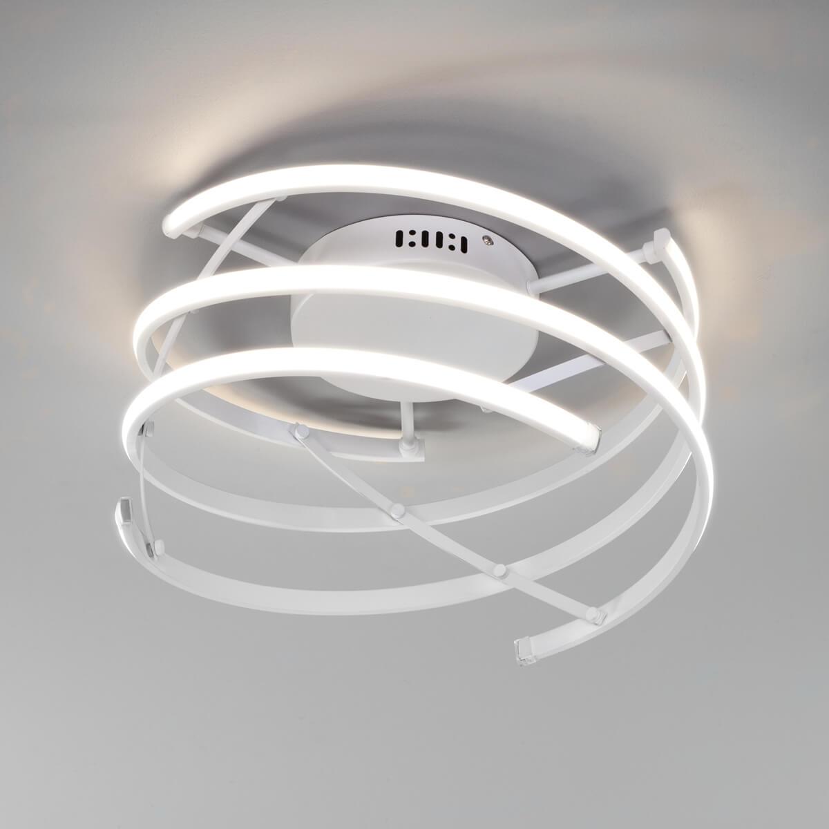 Фото - Светильник Eurosvet 90229/3 белый Breeze светильник eurosvet 90095 10 белый begonia