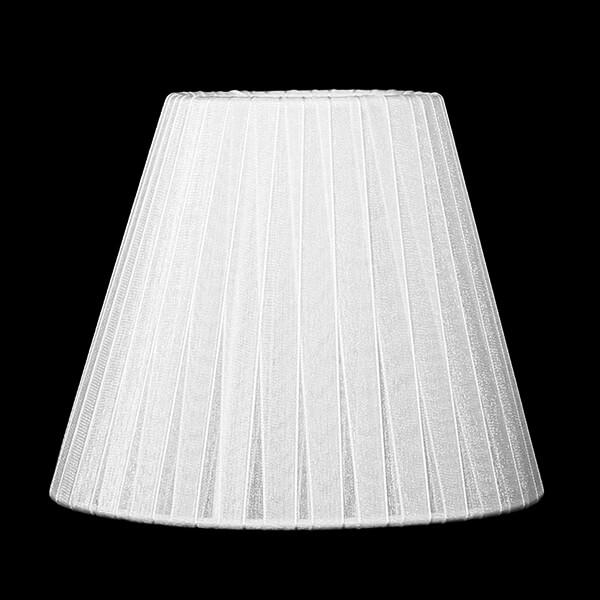 Абажур Eurosvet 1050 белоснежно-белый Мишель